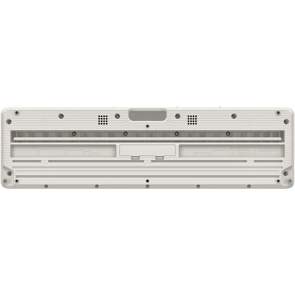 CASIO Keyboard »Piano-Keyboard, CT-S1WESP«, ideal für Piano-Einsteiger und Klanggourmets; inkl. Sustainpedal und Netzteil