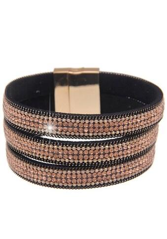 leslii Armband, mit drei Glitzerbändern kaufen
