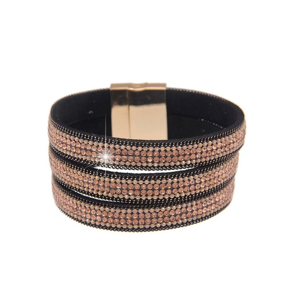 leslii Armband, mit drei Glitzerbändern