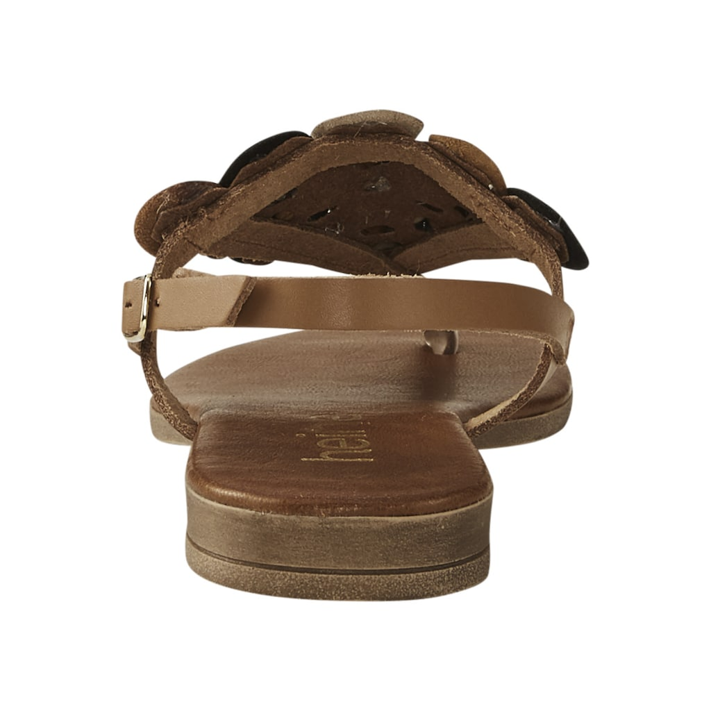 Sandalette mit Zehensteg