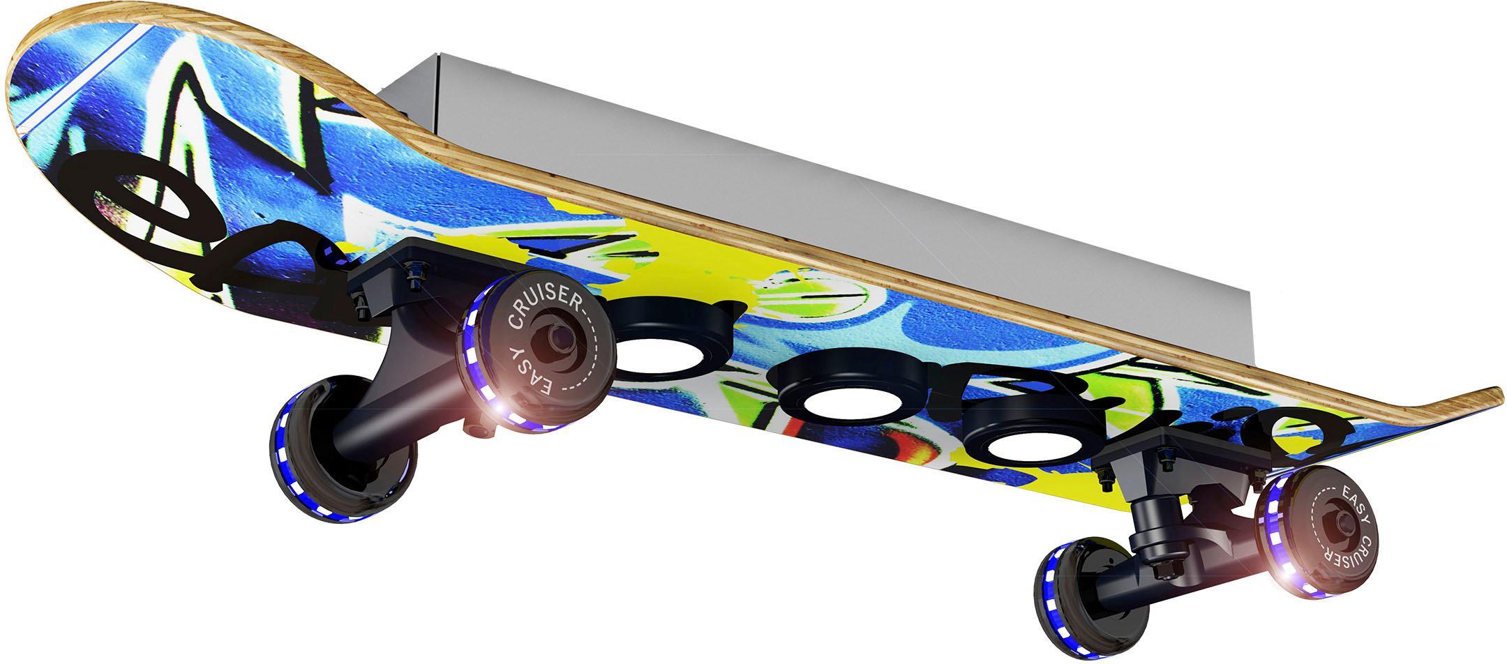 EVOTEC LED Deckenleuchte EASY CRUISER GRAFFITI, LED-Board, Warmweiß, LED Deckenlampe