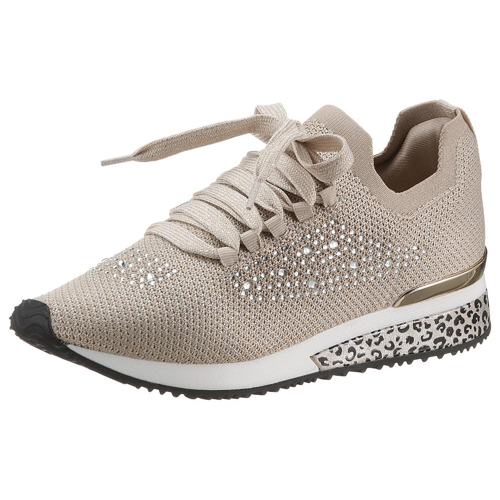 La Strada Slip-On Sneaker »Fashion Sneaker«, mit funkelnden Strasssteinen