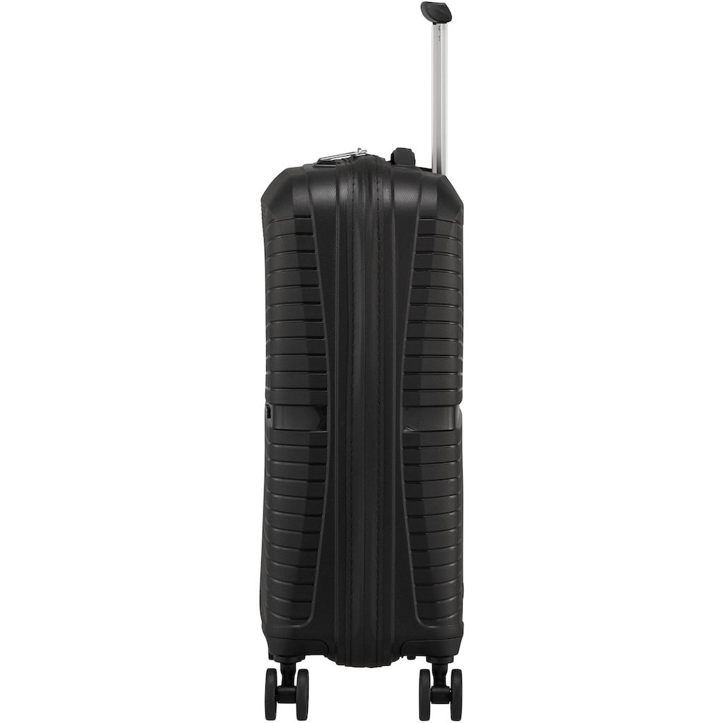 American Tourister® Hartschalen-Trolley »Airconic, 55 cm, onyx black«, 4 Rollen