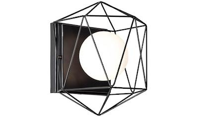 Brilliant Leuchten Synergy Wand -  und Deckenleuchte schwarz/weiß kaufen