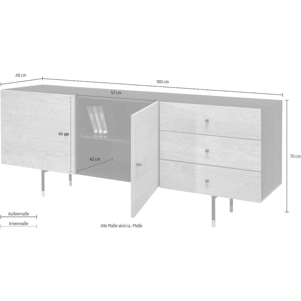 Woodman Sideboard »Daniel«, mit Soft Close Funktion, Breite 180 cm