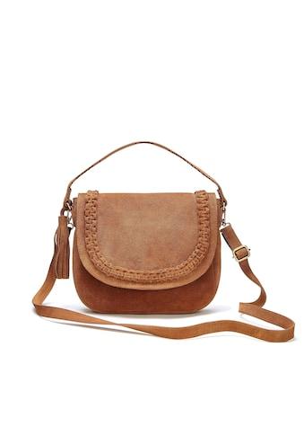 LASCANA Umhängetasche, Tasche aus Leder mit Tassel kaufen