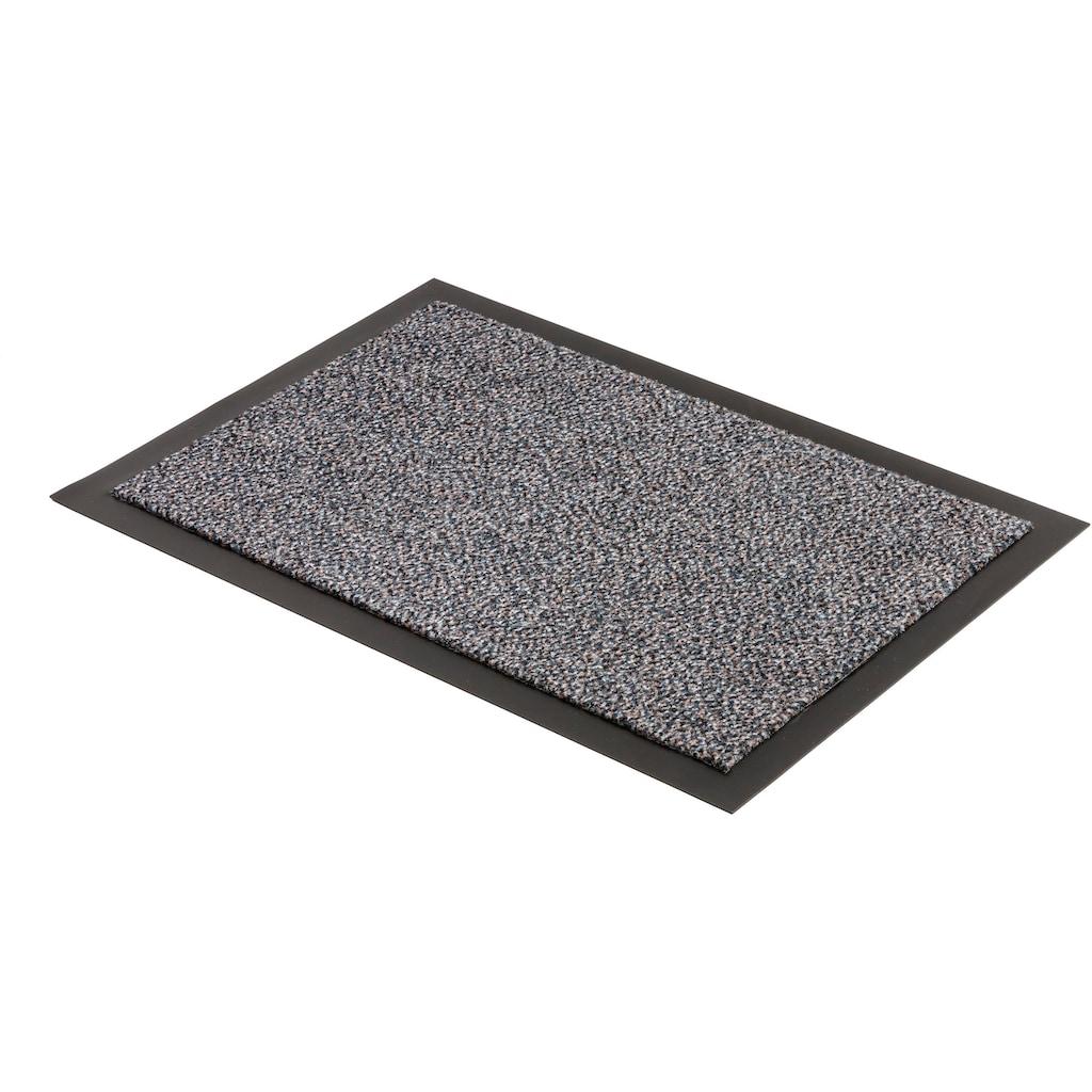 ASTRA Fußmatte »Turmalin 622«, rechteckig, 10 mm Höhe, Fussabstreifer, Fussabtreter, Schmutzfangläufer, Schmutzfangmatte, Schmutzfangteppich, Schmutzmatte, Türmatte, Türvorleger, In -und Outdoor geeignet