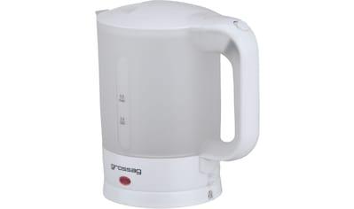 grossag Wasserkocher »WK 3.00«, 0,5 l, 1100 W kaufen