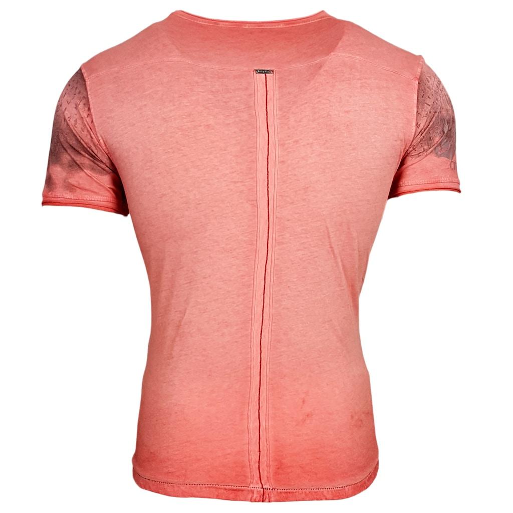 Rusty Neal T-Shirt mit großem Print