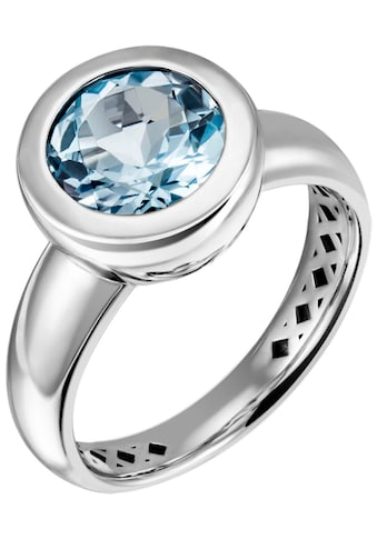 JOBO Fingerring, 925 Silber mit Blautopas kaufen
