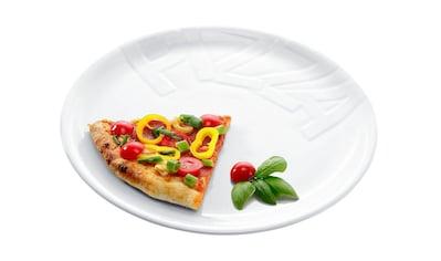 CreaTable Pizzateller, (Set, 4 St.), Porzellan kaufen