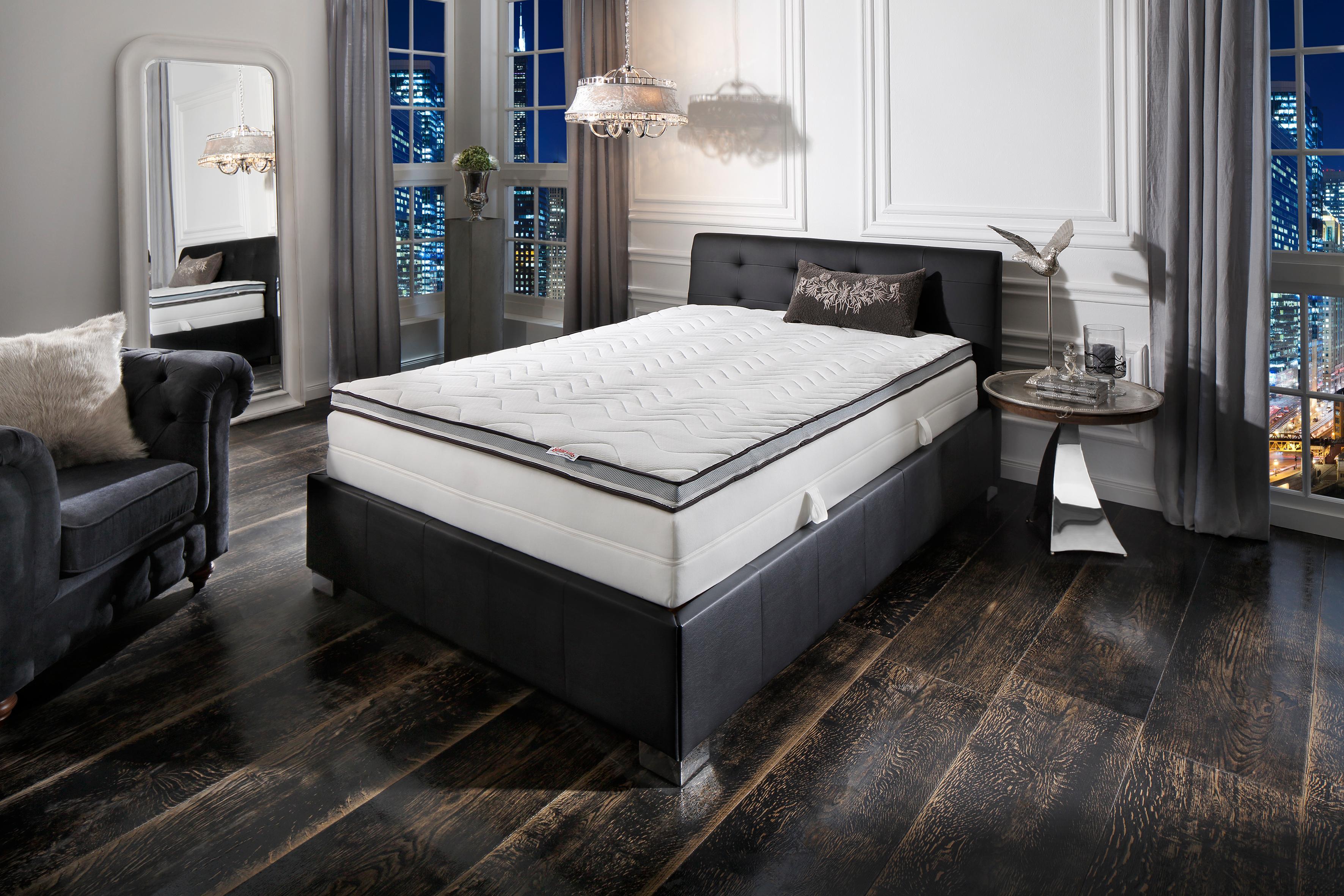 Topper Schlaf-Gut Premium TKS Schlaf-Gut 8 cm hoch Raumgewicht: 35 | Schlafzimmer > Matratzen > Kaltschaum-matratzen | Weiß | Schlaf-Gut