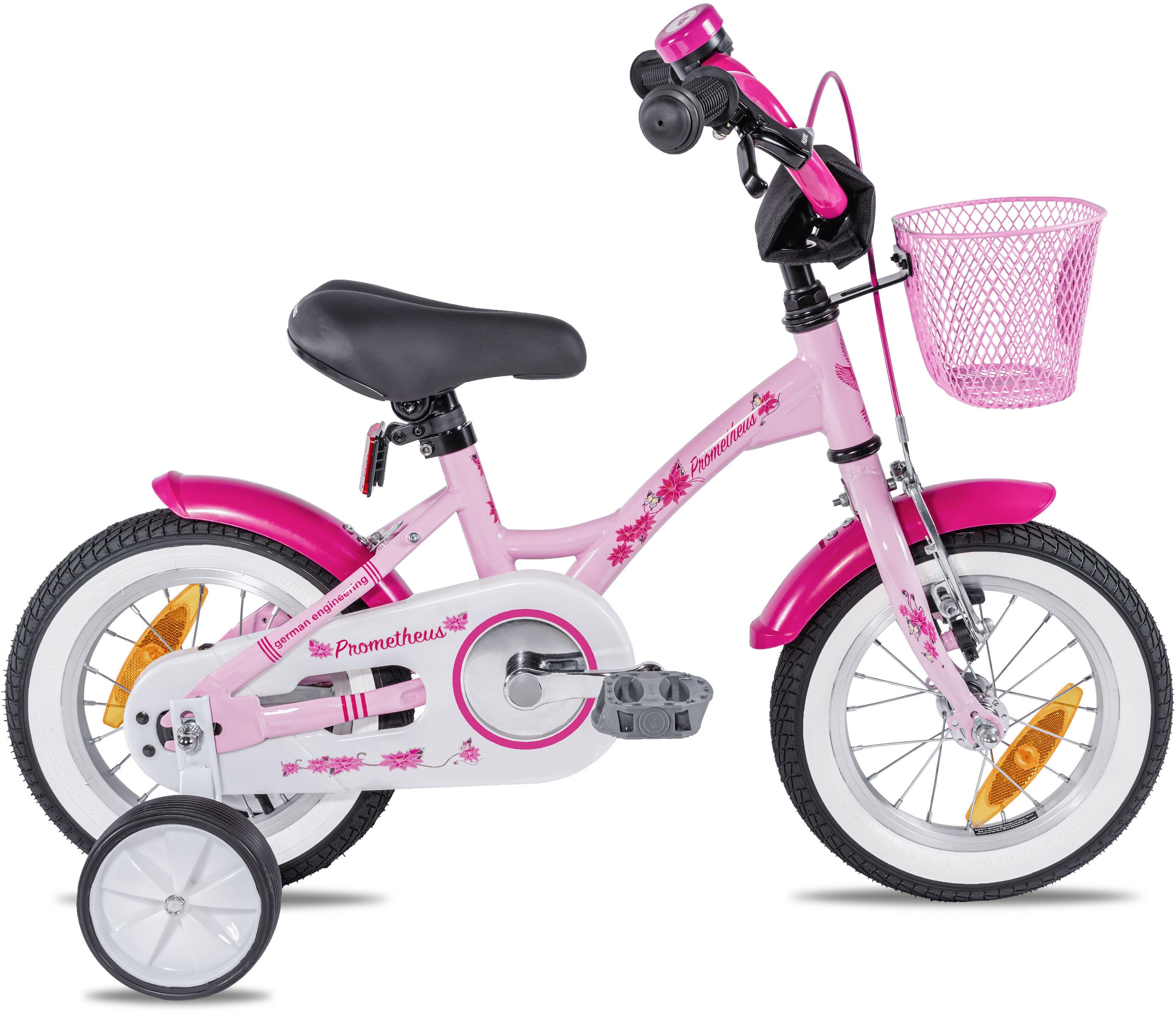 PROMETHEUS BICYCLES Kinderfahrrad Hawk, 1 Gang rosa Kinder Kinderfahrräder Fahrräder Zubehör