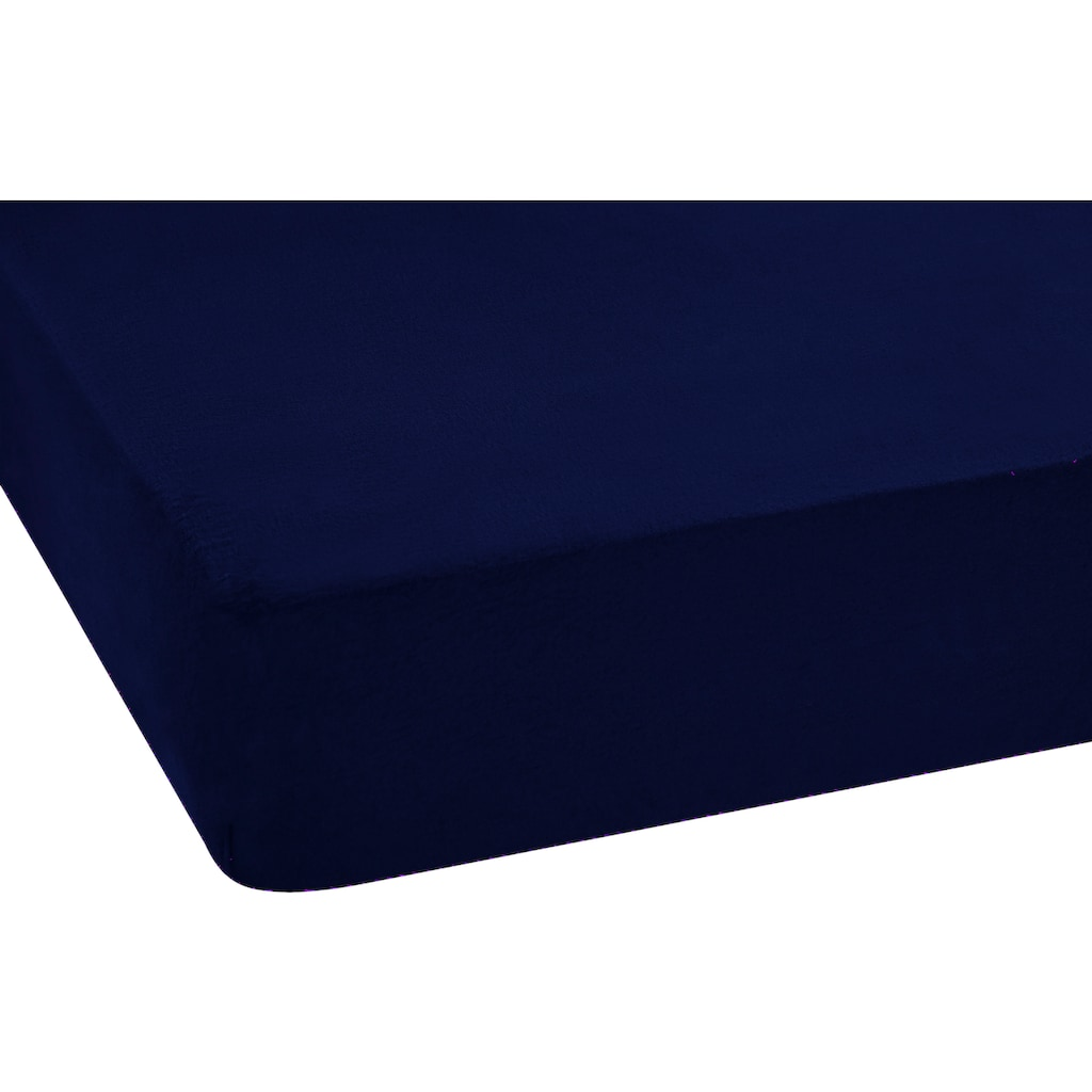 SETEX Spannbettlaken »REFIBRA Feinbiber«, aus bis zu 60% recycelten Fasern