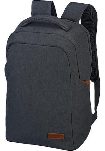 travelite Laptoprucksack »Basics Safety, Anthrazit« kaufen