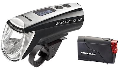 Trelock Fahrrad-Frontlicht »LS 950 CONTROL ION«, (Set, Front- und Rücklicht) kaufen