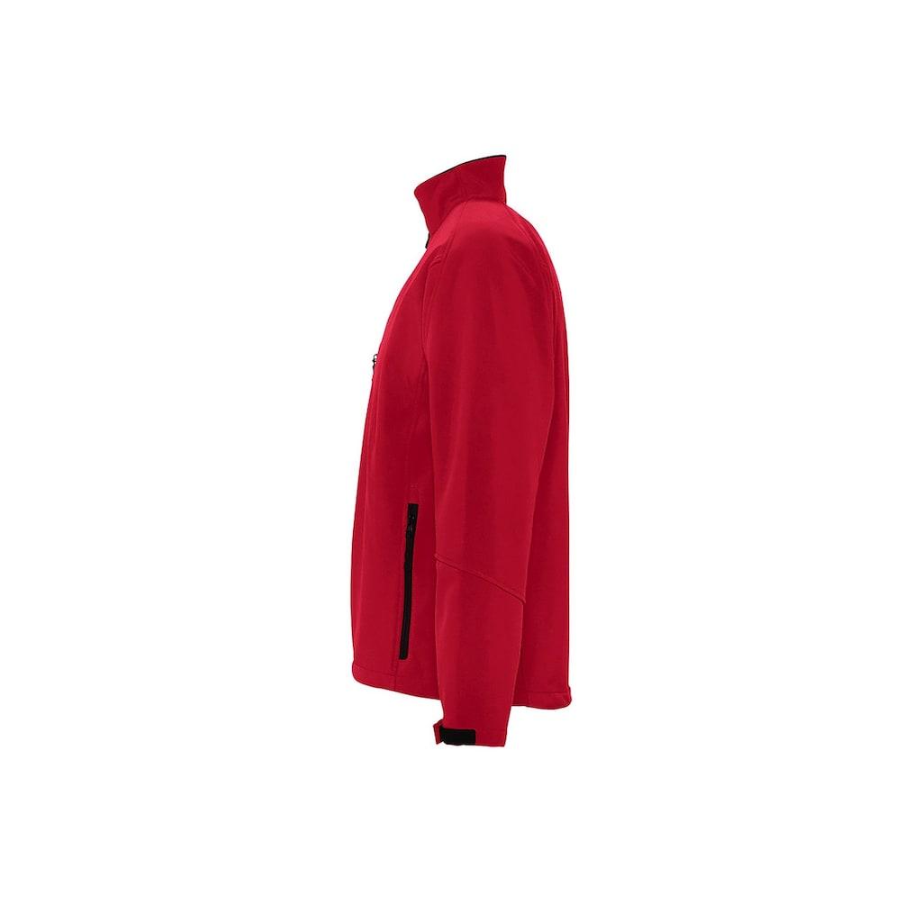 SOLS Softshelljacke »Herren Relax Softshell-Jacke, atmungsaktiv, winddicht, wasserdicht«