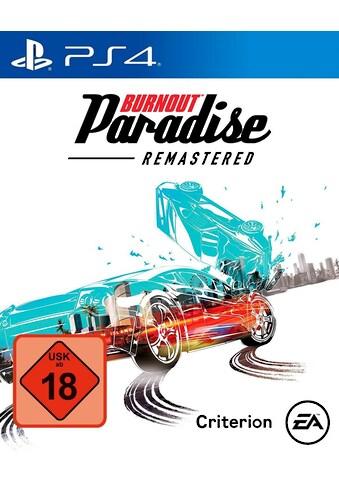 Electronic Arts Spiel »PS4 Burnout Paradise Remastered«, PlayStation 4 kaufen