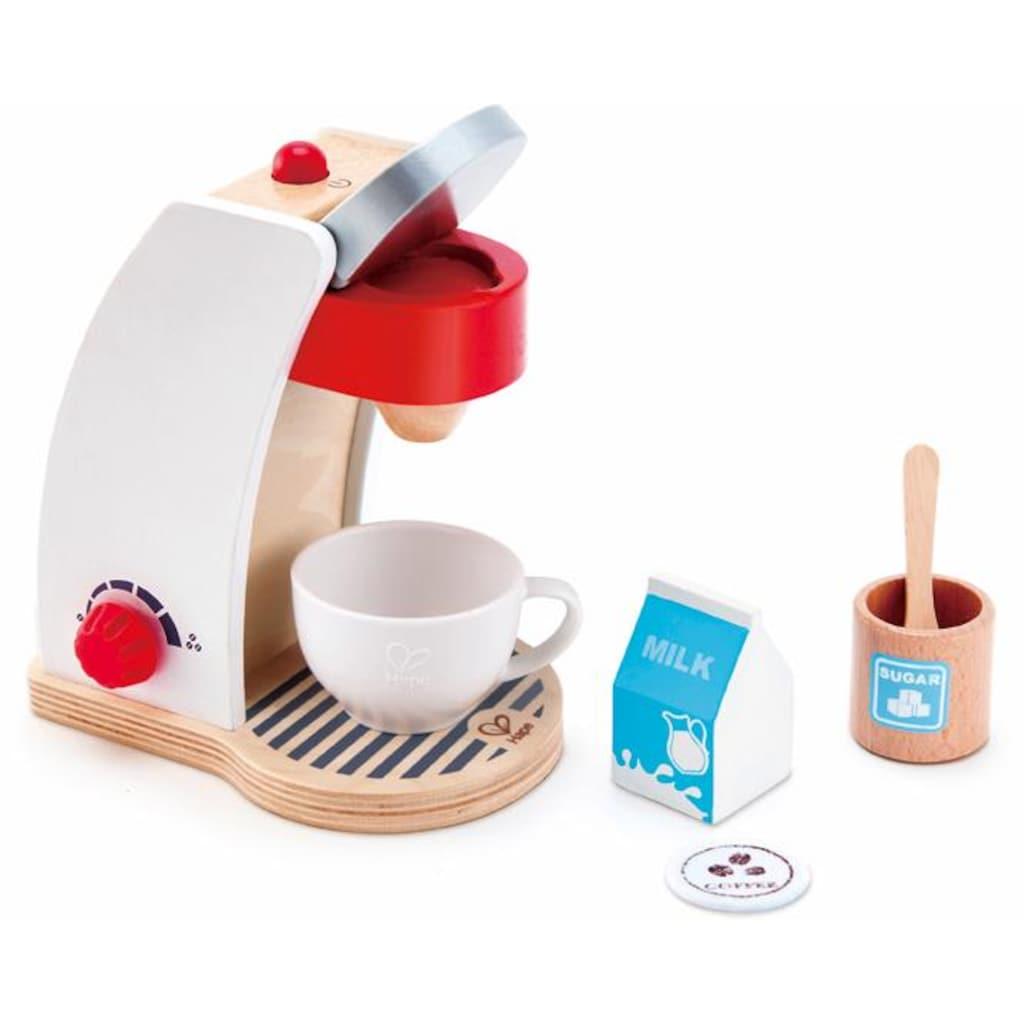 Hape Kinder-Kaffeemaschine »Meine Kaffeemaschine«, (Set, 6 tlg.), mit Ein-/Ausschalter und einem Drehregler