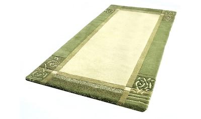 Wollteppich, »Tomine«, Dekowe, rechteckig, Höhe 17 mm, manuell geknüpft kaufen