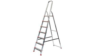Stehleiter 3,53 m, 7 - stufig kaufen