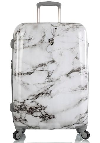 Heys Hartschalen-Trolley »Bianco, 66 cm, Marmor«, 4 Rollen kaufen