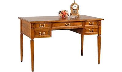 SELVA Schreibtisch »Villa Borghese«, Modell 6371, Breite 131 cm kaufen