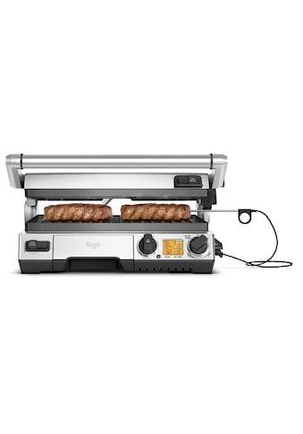 Sage Kontaktgrill »the Smart Grill Pro, SGR840BSS«, 2400 W, antihaftbeschichtete und... kaufen