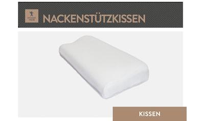 SPESSARTTRAUM Nackenstützkissen »Bronze«, Bezug: Tencel Doppeltuch, (1 St.), hergestellt in Deutschland, allergikerfreundlich kaufen