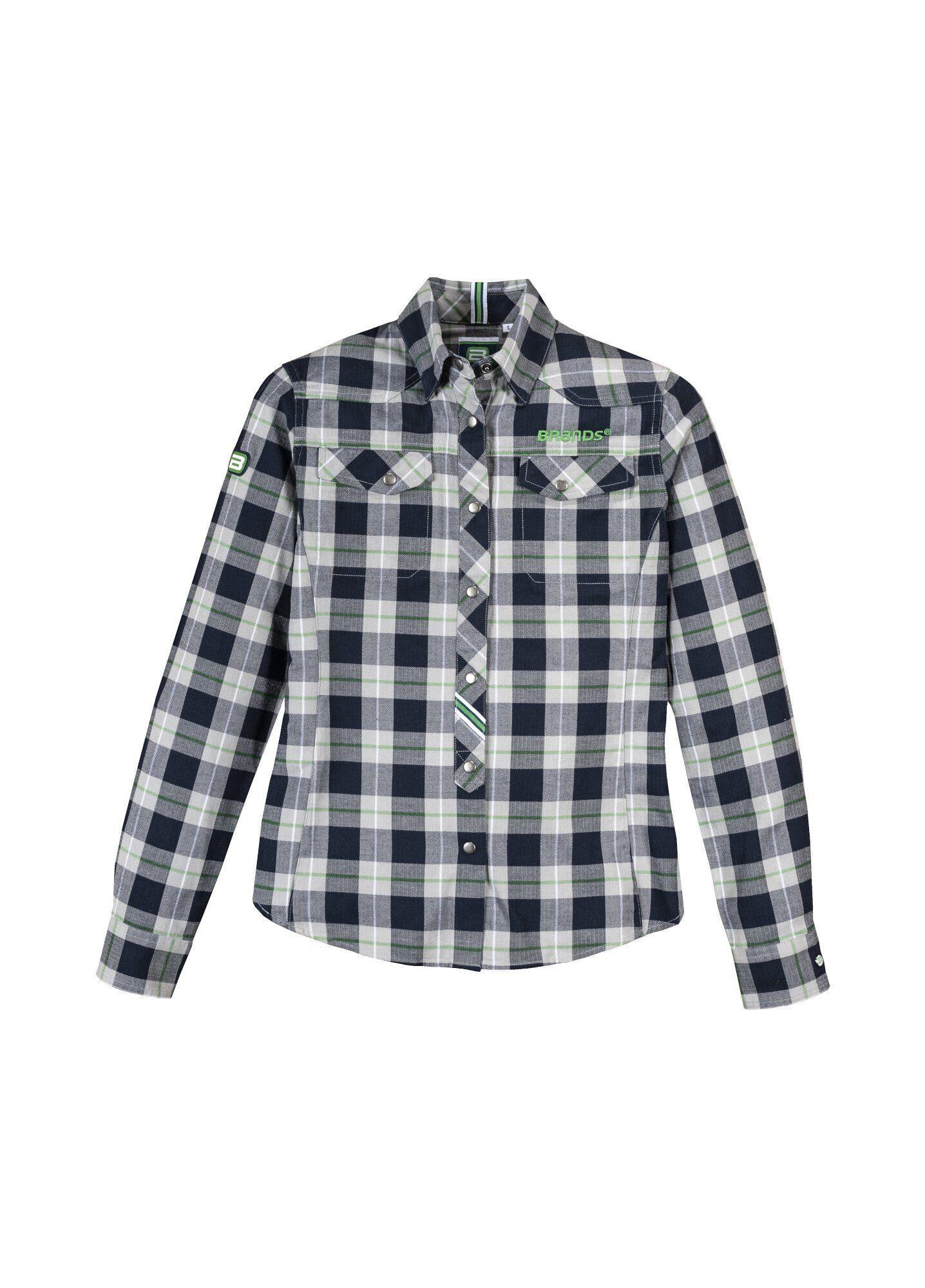 BRANDS Workwear Karobluse Karobluse Damen GOTS | Bekleidung > Blusen > Karoblusen | Brands Workwear