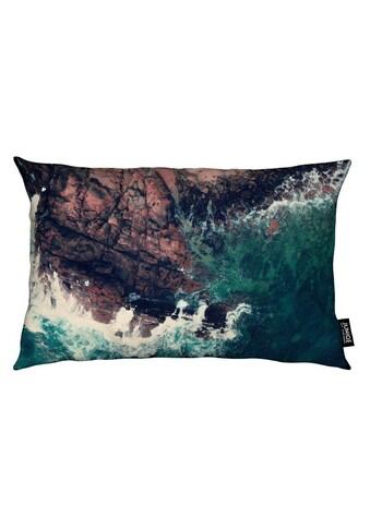 Dekokissen, »Emerald Green Sea«, Juniqe kaufen