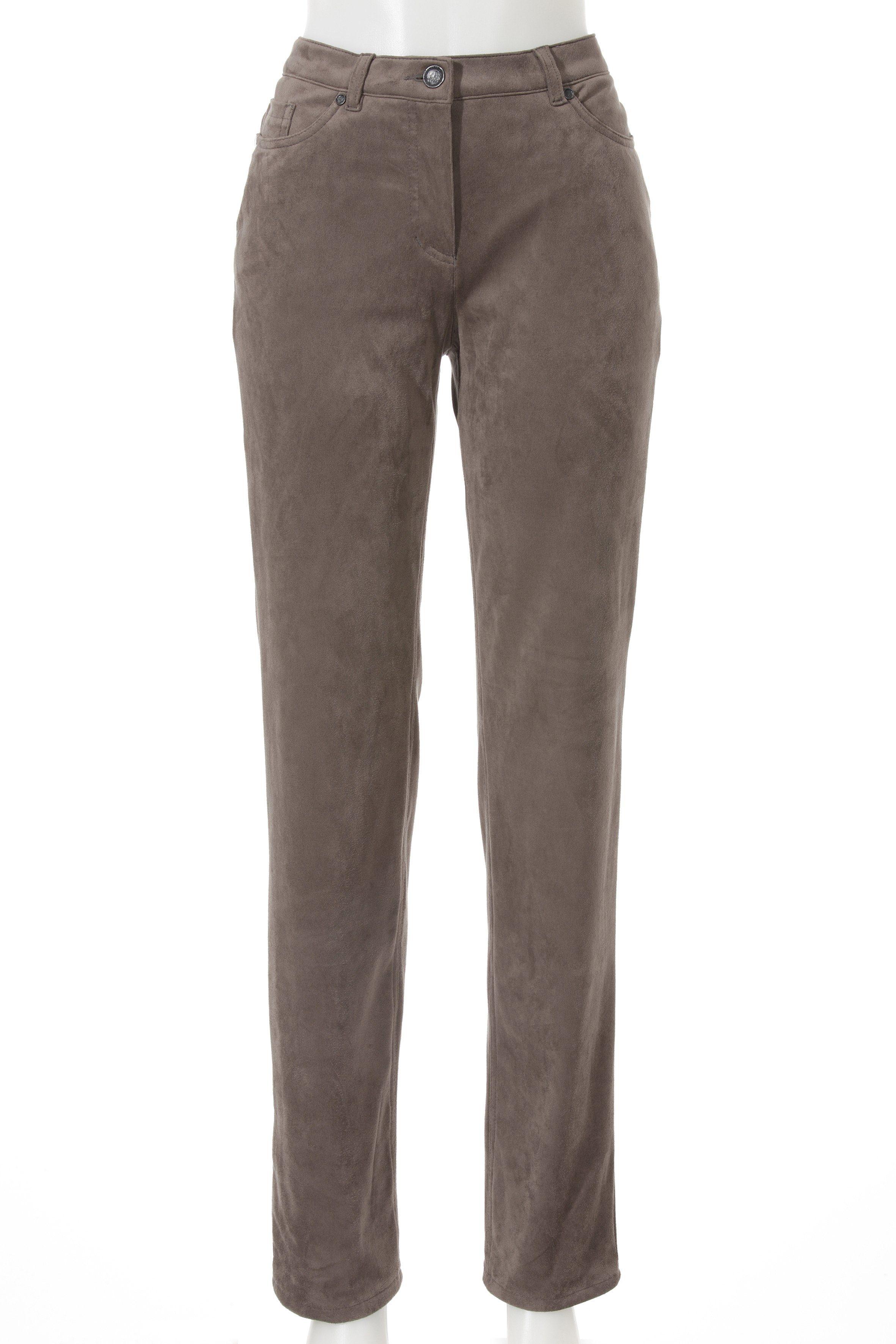 Stark 5 Pocket Hose in Veloursleder-Optik | Bekleidung > Hosen > 5-Pocket-Hosen | Stark