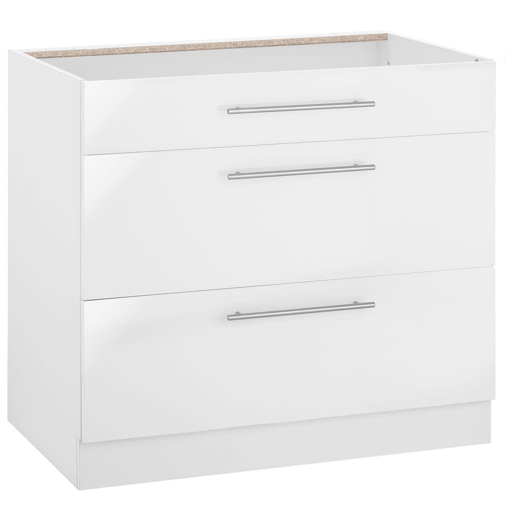 wiho Küchen Unterschrank »Flexi2«, Breite 90 cm