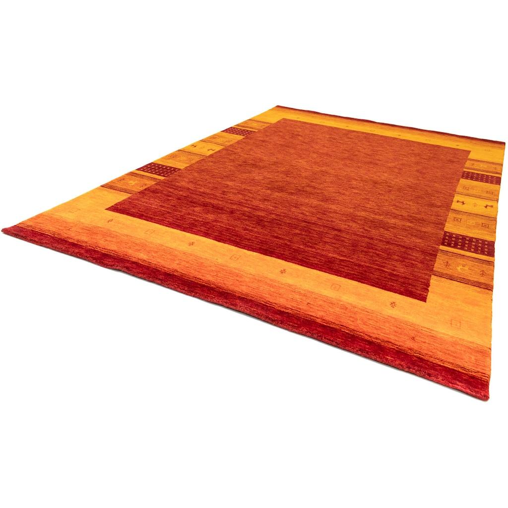 morgenland Wollteppich »Gabbeh Teppich Doha«, rechteckig, 18 mm Höhe
