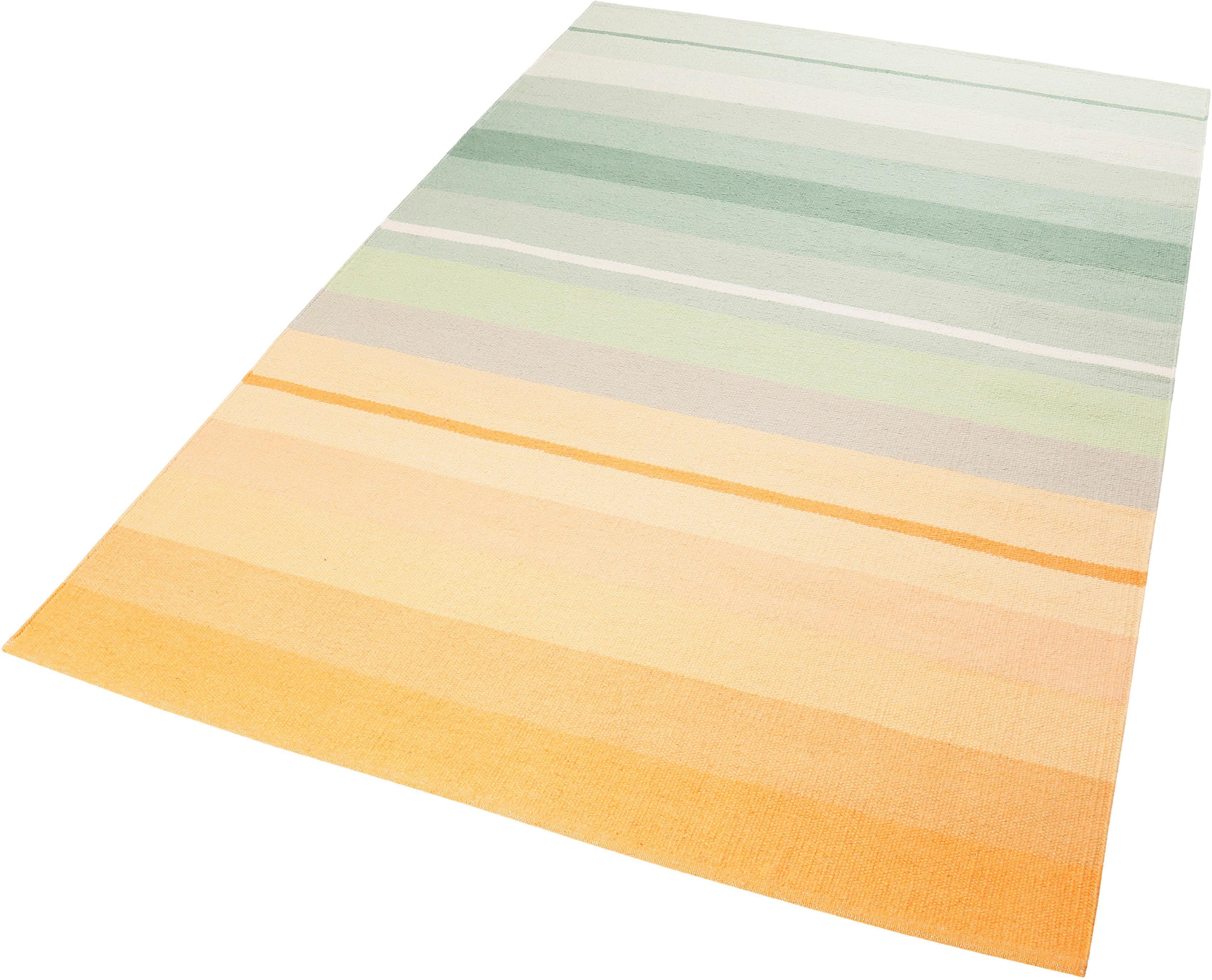 Teppich Raise Kelim Esprit rechteckig Höhe 4 mm handgewebt