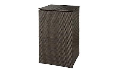 HANSE GARTENLAND Mülltonnenbox, für 1x240 l aus Polyrattan, BxTxH: 76x78x123 cm kaufen