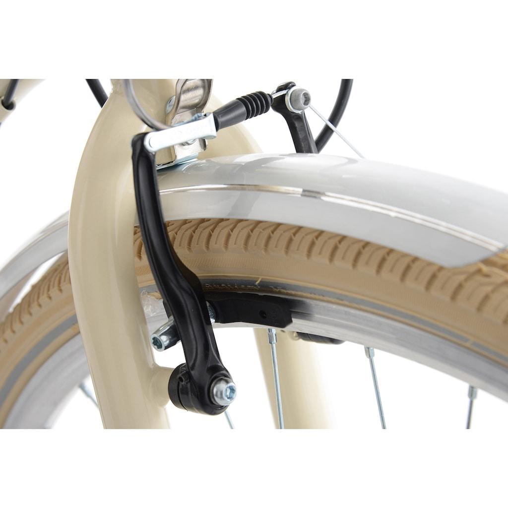 KS Cycling Cityrad »Casino«, 6 Gang, Shimano, Tourney TZ Schaltwerk, Kettenschaltung