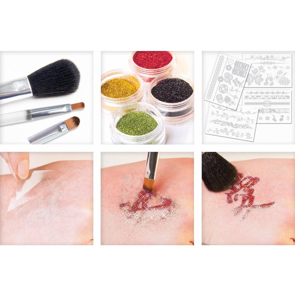 Knorrtoys® Kreativset »GLITZA FASHION Deluxe Set Zen«, (Set), Verpackung in BuchformVerpackung in Buchform