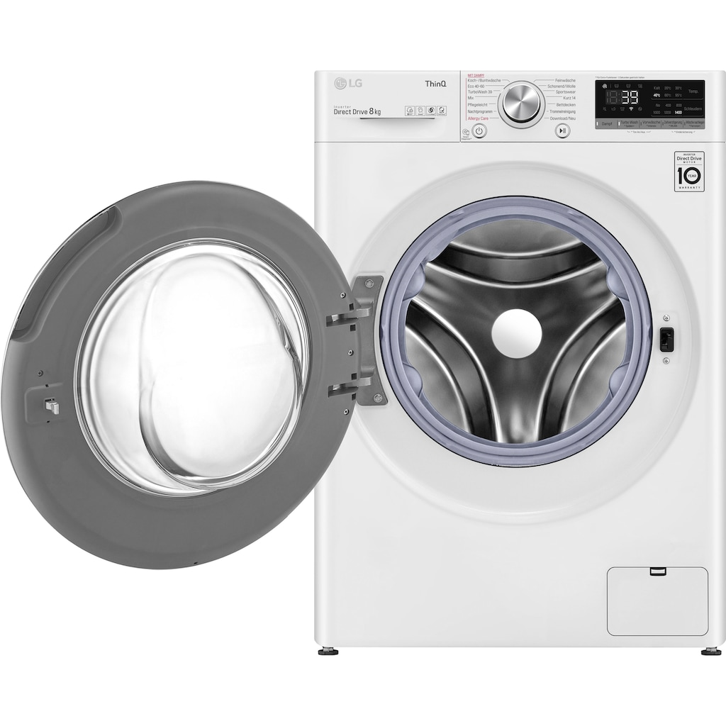 LG Waschmaschine »F4WV708P1«, Serie 7, F4WV708P1E