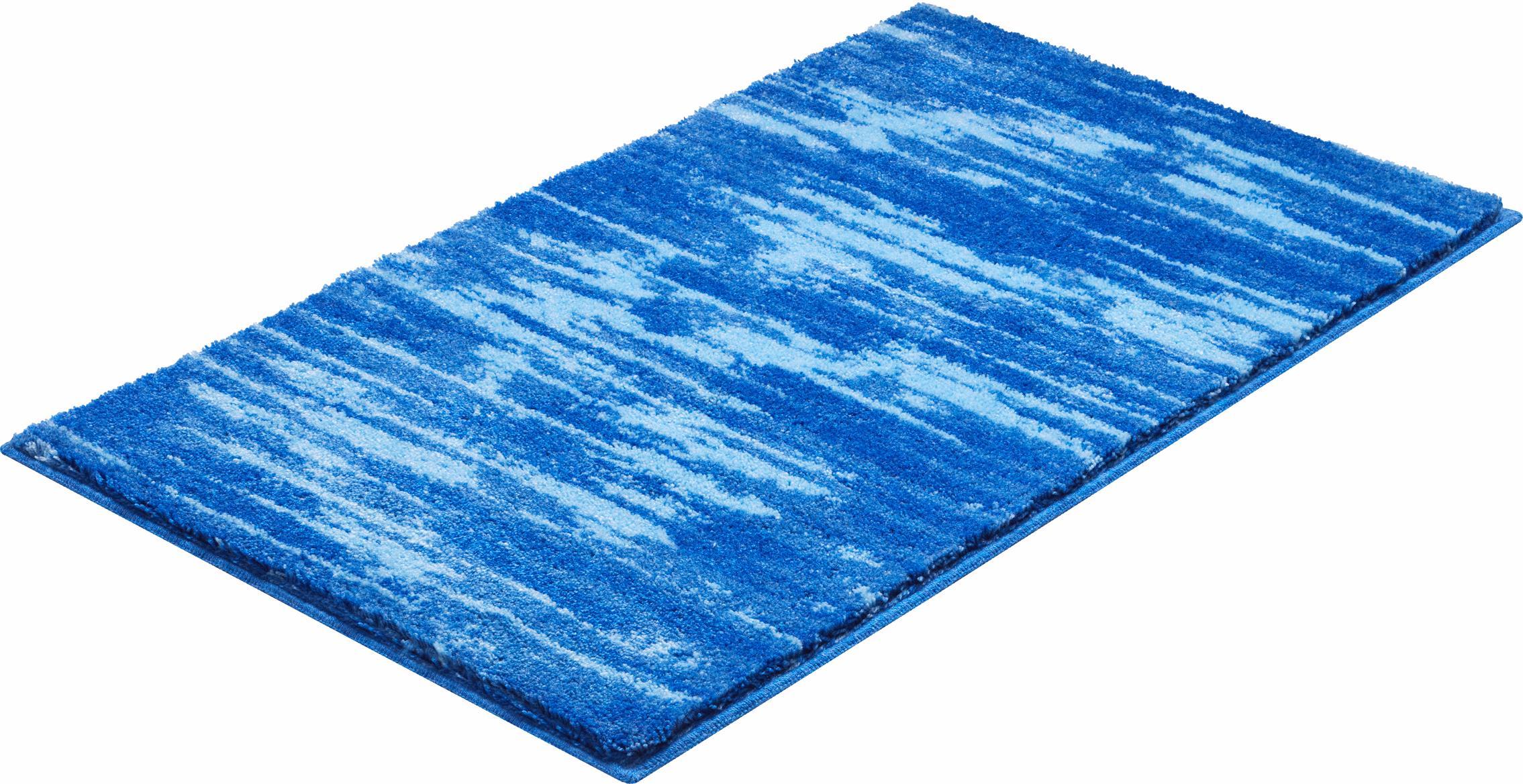 Badematte Fancy Grund Höhe 20 mm rutschhemmend beschichtet fußbodenheizungsgeeignet