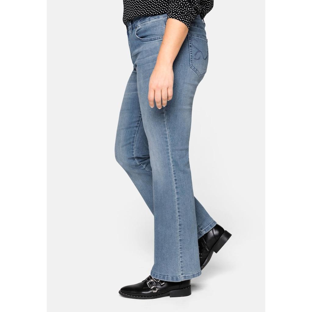 Sheego Bootcut-Jeans, MAILA