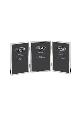 EDZARD Bilderrahmen »Genua«, für 3 Fotos, versilbert und anlaufgeschützt, für 10x15 cm... kaufen