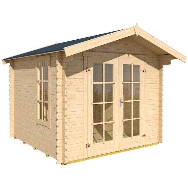 OUTDOOR LIFE PRODUCTS Gartenhaus »Kalmar 0«, BxT: 285x305 cm, inkl. Fußboden