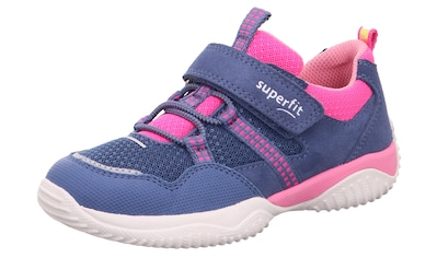 Superfit Sneaker »Storm WMS Weiten-Messsystem: mittel«, mit Gummizug und Klettverschluss kaufen