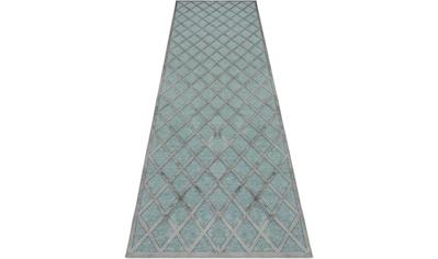 MINT RUGS Läufer »Danton«, rechteckig, 4 mm Höhe, Hoch-Tief-Effekt kaufen