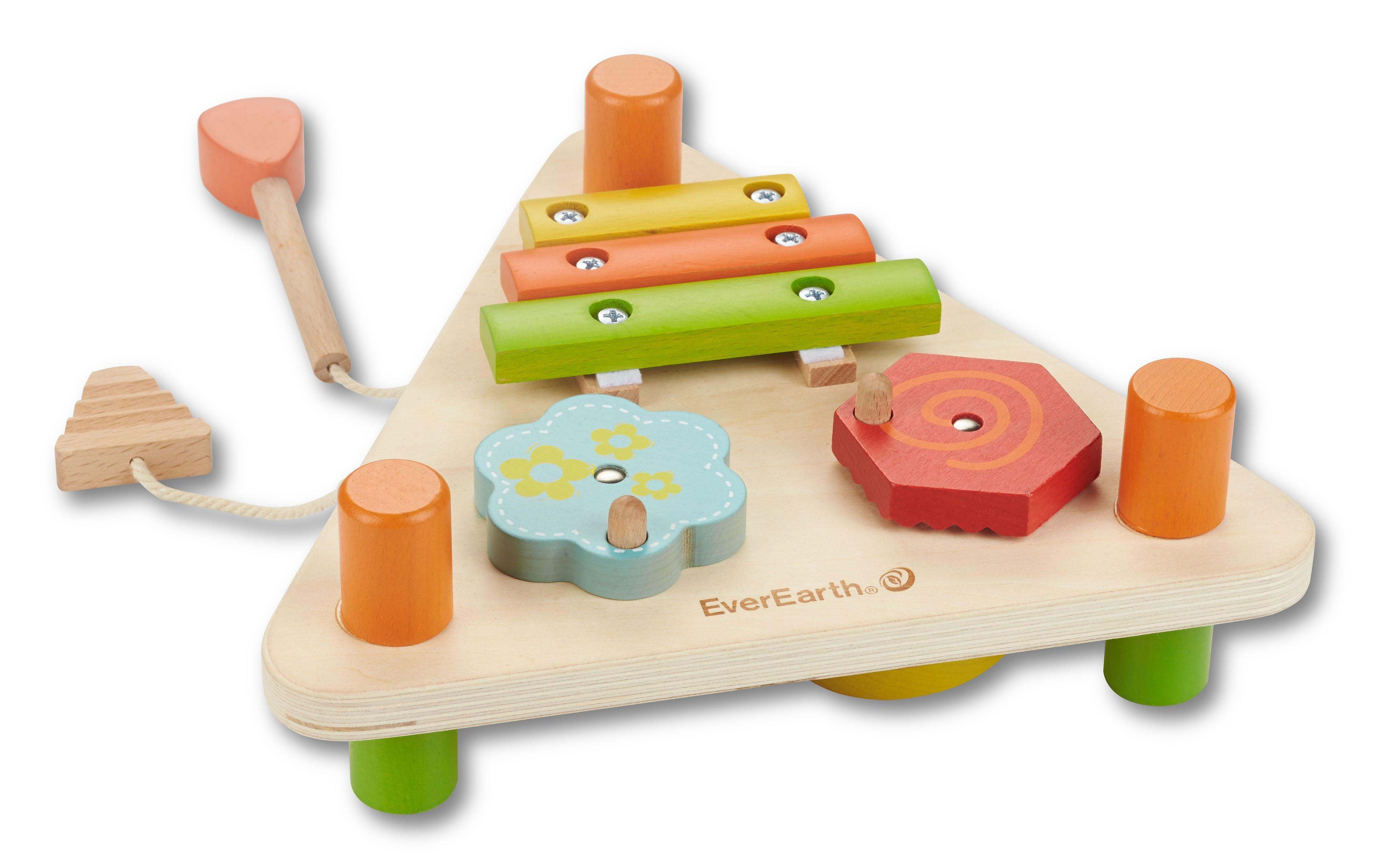 EverEarth Holzspielzeug 2-seitiges Musikdreieck Preisvergleich