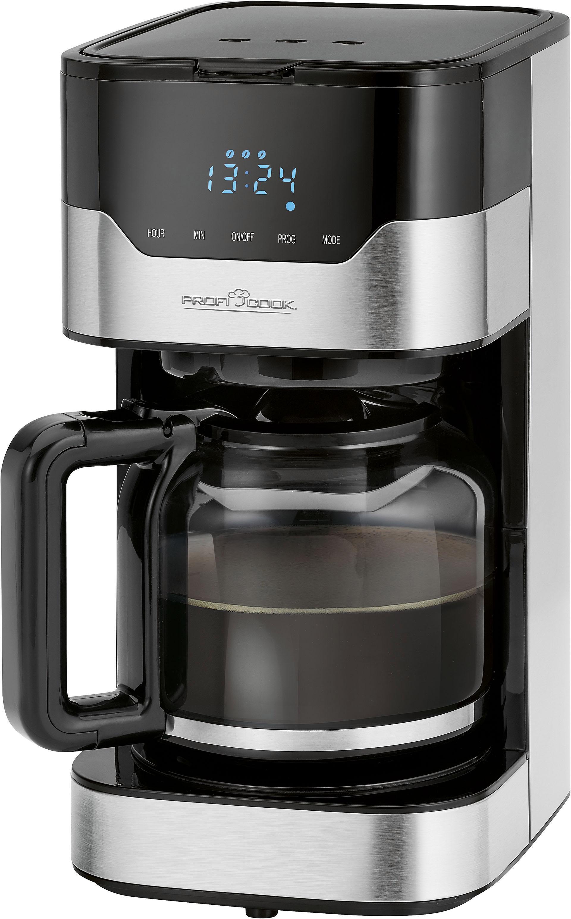 ProfiCook Filterkaffeemaschine PC-KA 1169 Papierfilter 1x4   Küche und Esszimmer > Kaffee und Tee > Kaffeemaschinen   Schwarz   Proficook