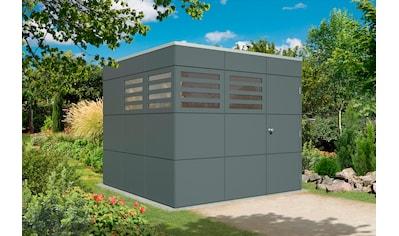 SKANHOLZ Gartenhaus »CrossCube Brisbane 3«, BxT: 253x253 cm kaufen