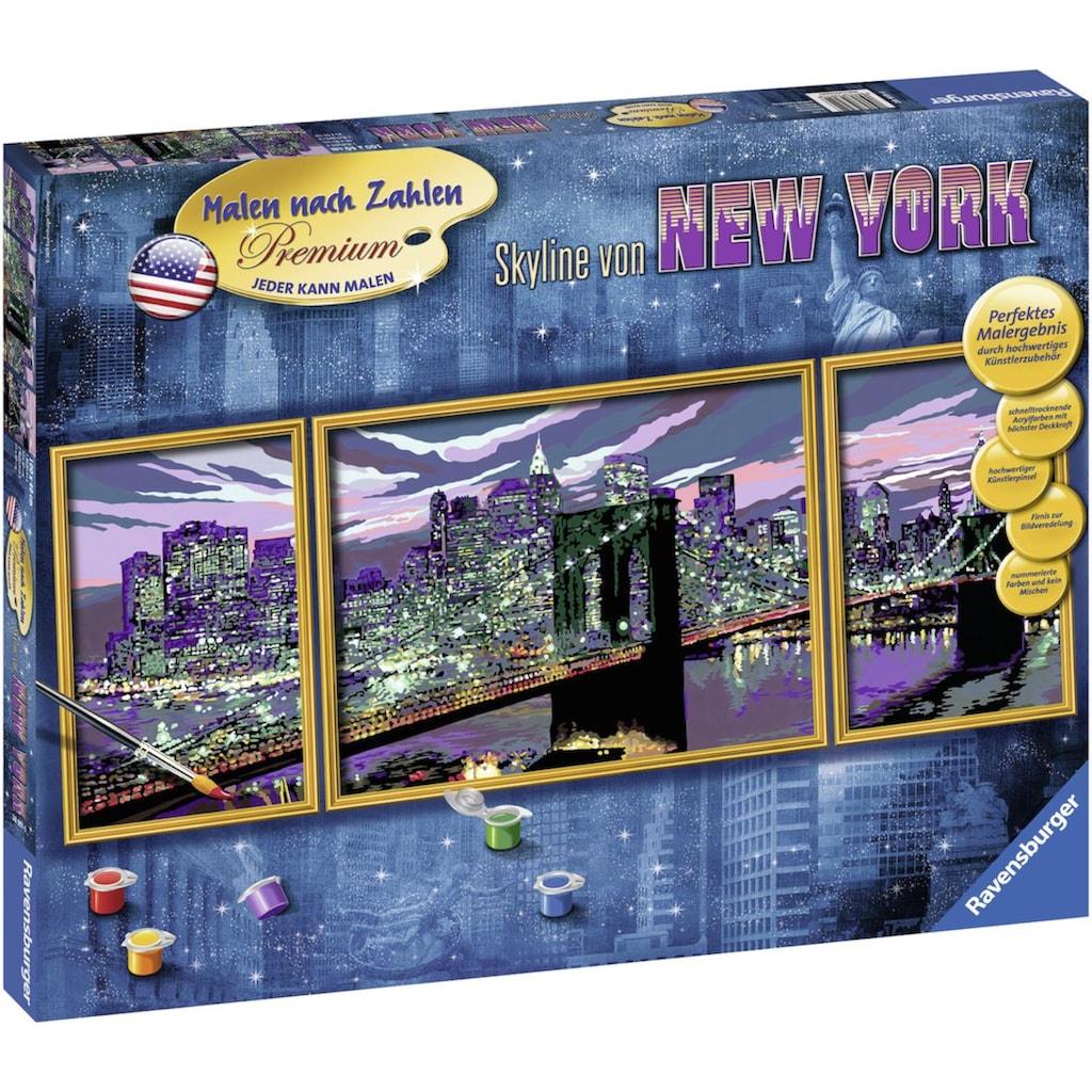 Ravensburger Malen nach Zahlen »Skyline von New York«, Made in Europe, FSC® - schützt Wald - weltweit
