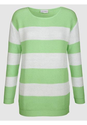 Laura Kent Pullover in Streifenoptik kaufen